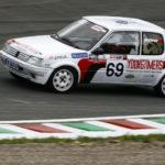 Young Car en piste lors des essais libres. C'était avant nos petits soucis de freinage…