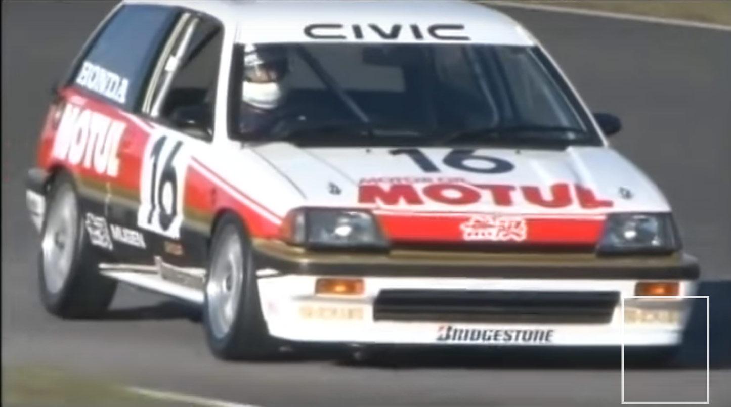 Vidéo : les Honda de course youngtimers sur le circuit de Motegi