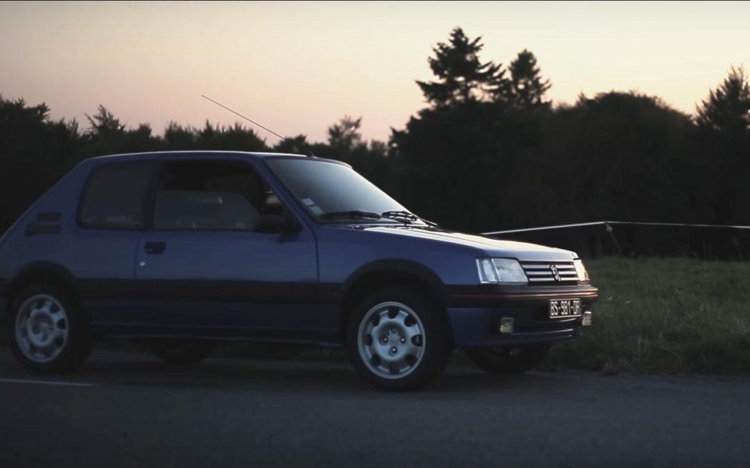 La Peugeot 205 GTI filmée par Petrolicious