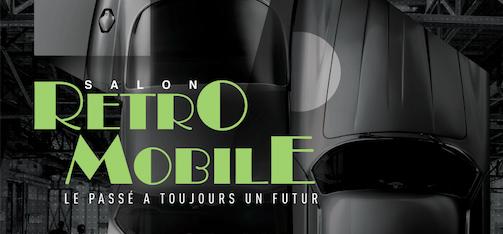 Rétromobile 2018 : déjà l'affiche !