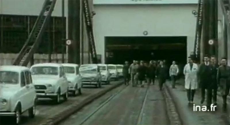 La vidéo du numéro 78 : la dernière voiture à Renault Billancourt