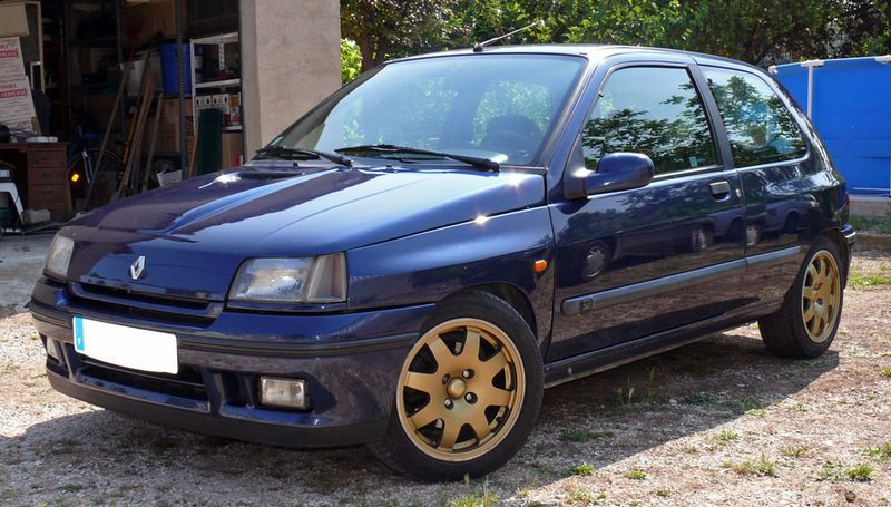 renault clio williams youngtimers. Black Bedroom Furniture Sets. Home Design Ideas