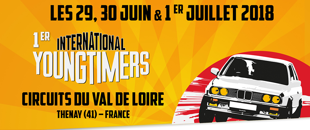 Youngtimers International : tout le programme !