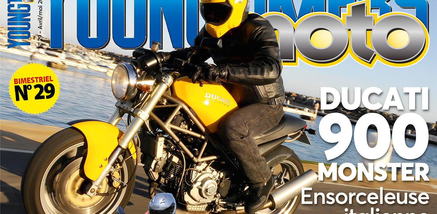 Un monstre en une de Youngtimers Moto N°29 !
