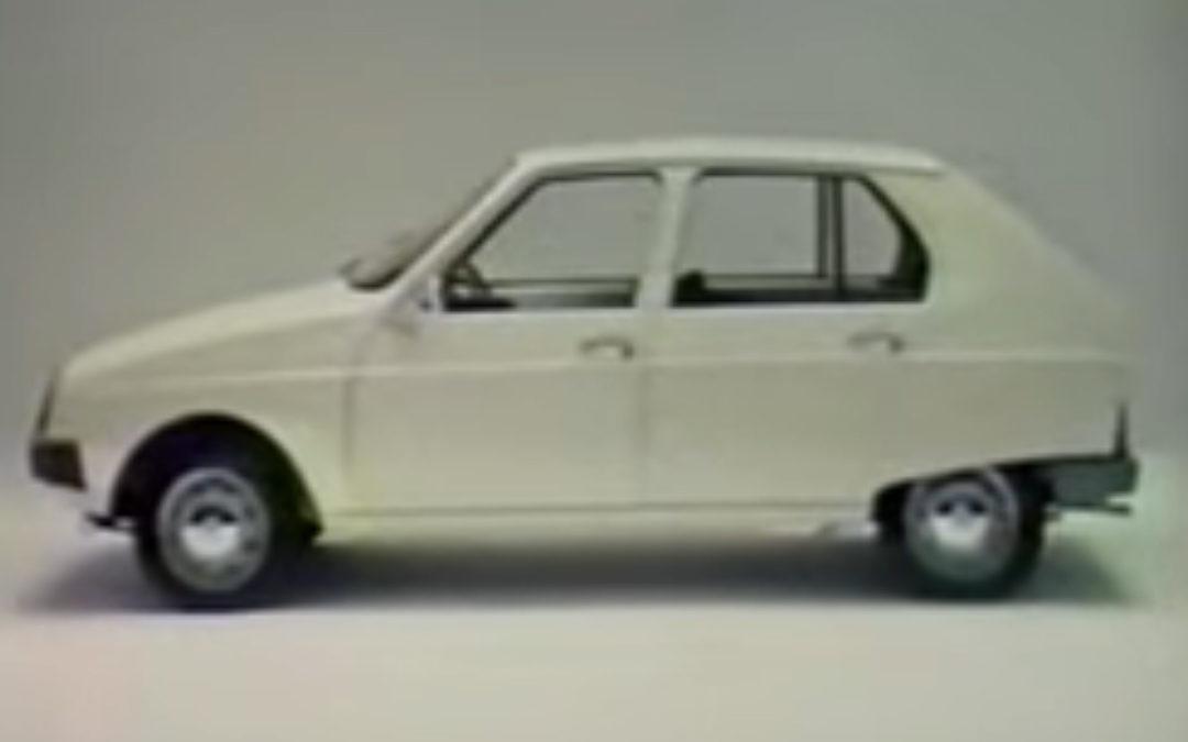La vidéo du mois : Citroën Visa, ça c'est une auto !