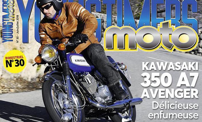 Kawasaki, Yamaha, MF, Moto Guzzi, Peugeot à la Une de Youngtimers Moto N° 30 !