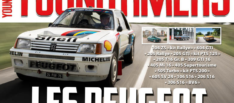 Les Peugeot sportives à l'honneur dans le hors-série youngtimers de l'été !