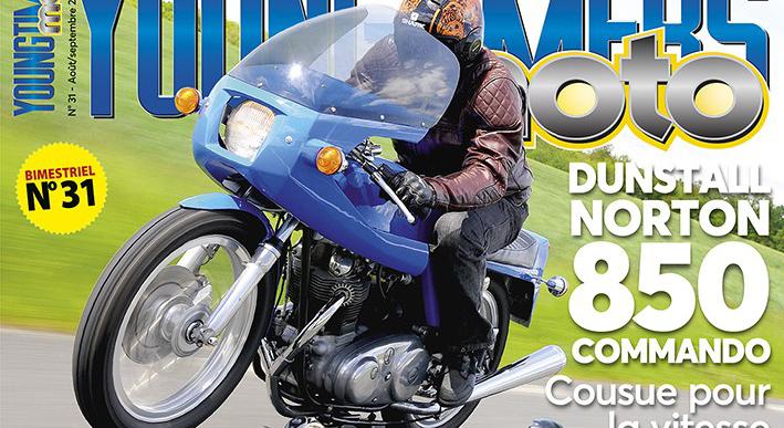 Dunstall Norton, Gilera, Yamaha, Gitan et Benelli à la Une de Youngtimers Moto !