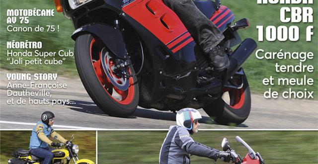 Youngtimers Moto n°35 avril/mai 2019 Honda CBR 1000F, BMW R100 GS Paris-Dakar, Motobécane AV75, Yamaha XS500, Honda CUB, Royal Enfield Bullet Diesel