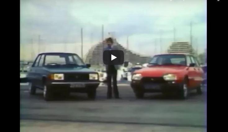 Vidéo du mois : Renault 9 VS Citroën GSA et Visa (1982)
