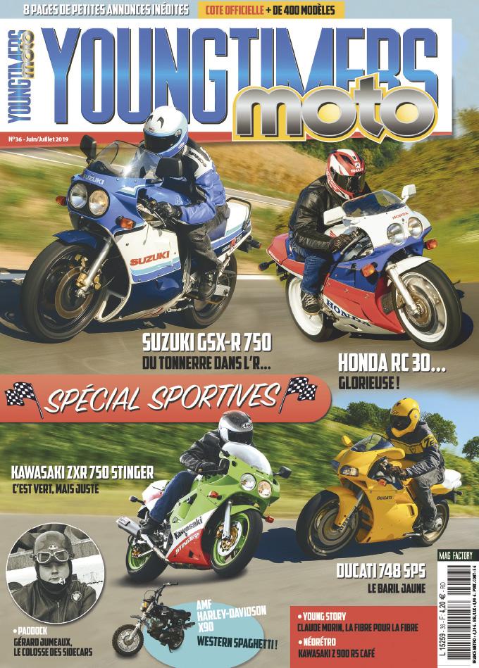 Youngtimers Moto n°36 est en kiosques !