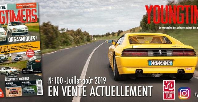 Youngtimers n°100 Juillet/août 2019