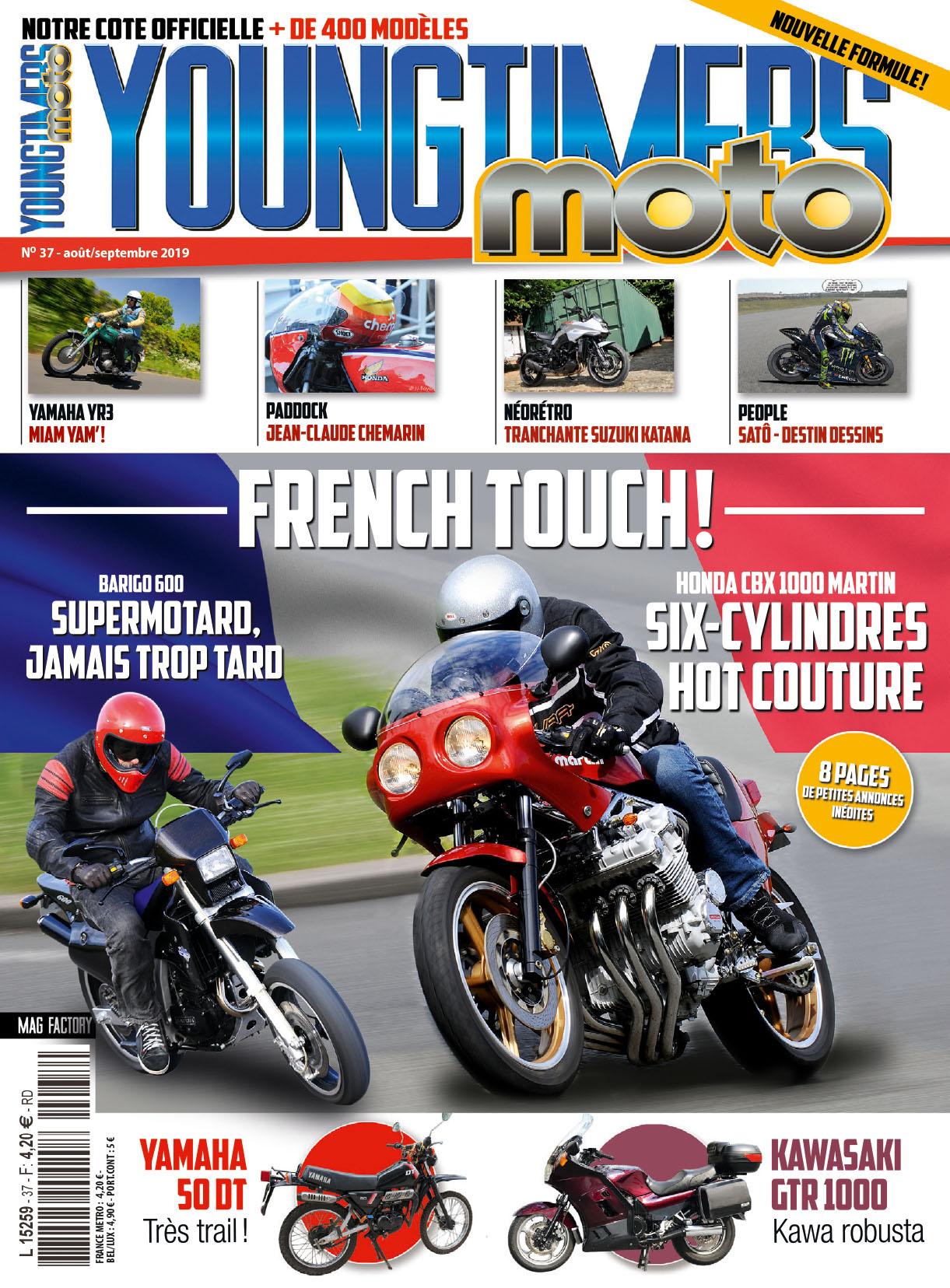 Youngtimers Moto n°37 est en kiosques !