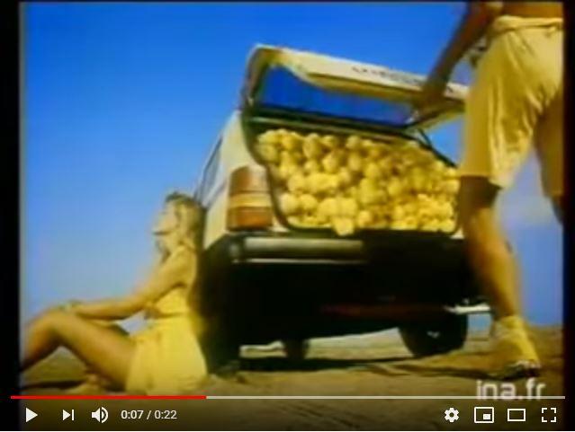 [YOUNG TV] Seat Marbella : 1989