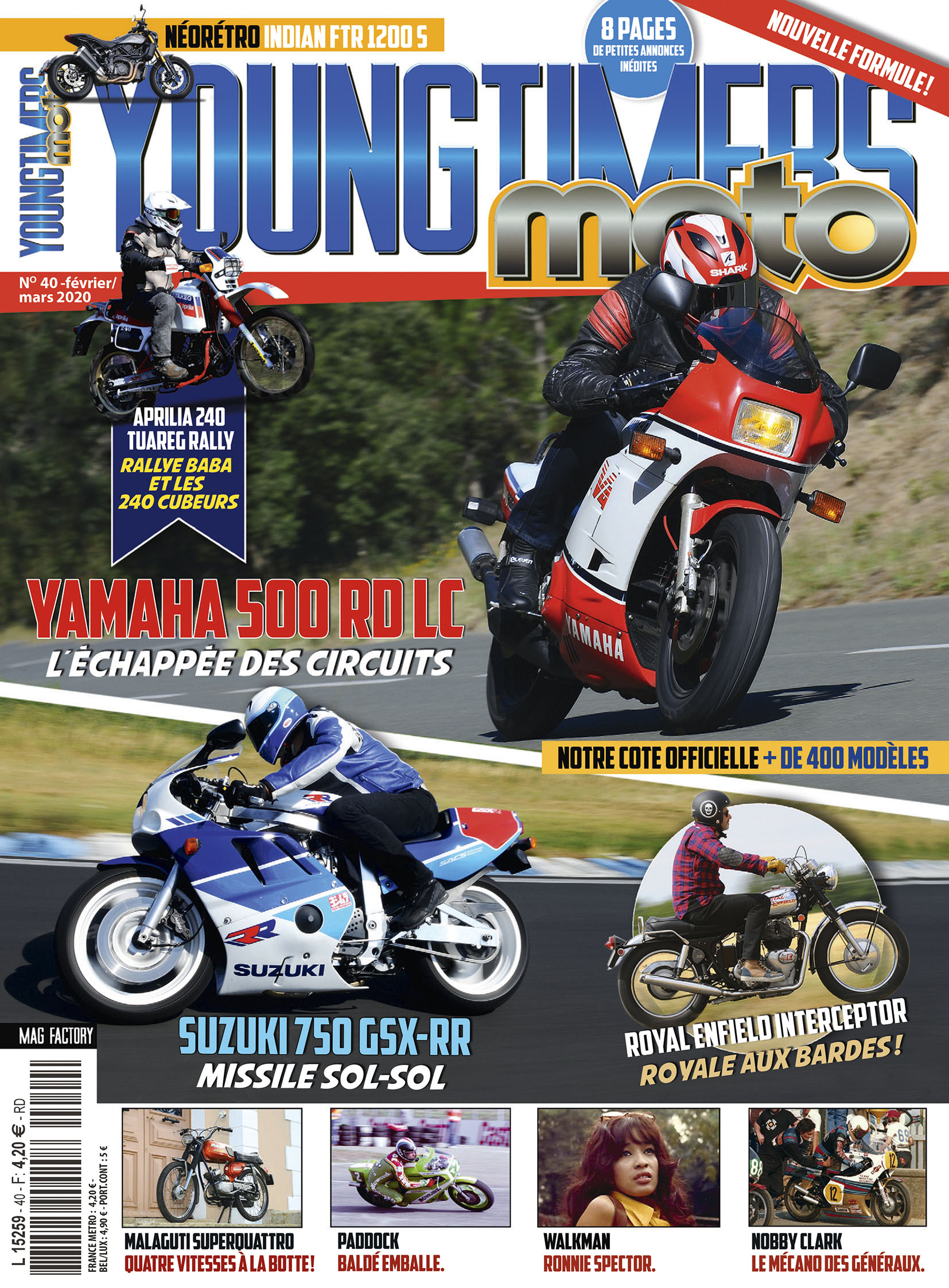 Youngtimers Moto n°40 est en kiosques !
