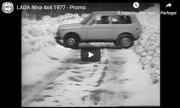 [YOUNG TV] Vidéo du mois : Lada Niva 4×4 Promo – 1977