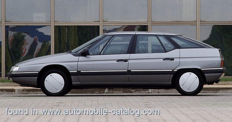 [Les tiroirs de l'insolite] Citroën XM 2.0 Séduction (1989) : Radical purisme.