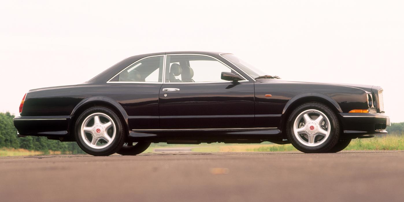 [Les tiroirs de l'insolite] Bentley Continental T : Muscle britannique et métal lourd.
