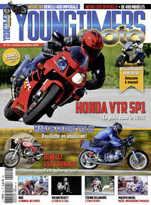 Magazine Youngtimers Moto n°44 - octobre/novembre 2020