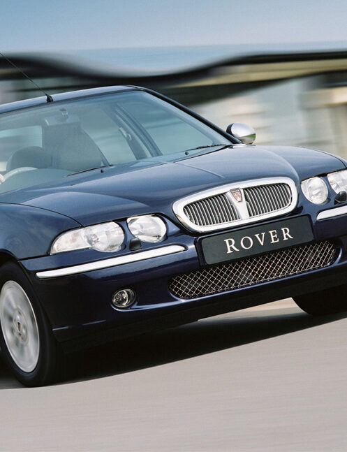 Un jour, une voiture: Rover série 400 (HHR)