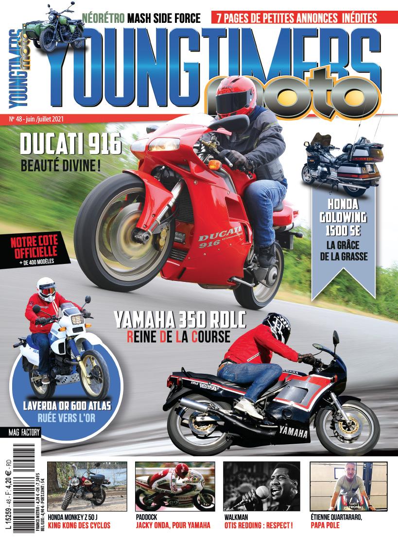 Youngtimers Moto n°48 – Juin/juillet 2021 est disponible !