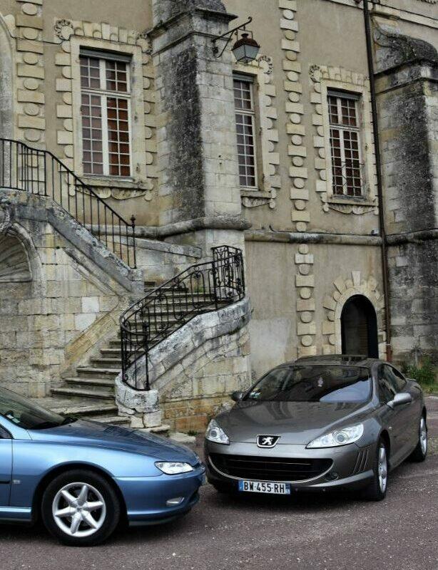Un jour, des voitures: Peugeot 406 Coupé contre 407 Coupé