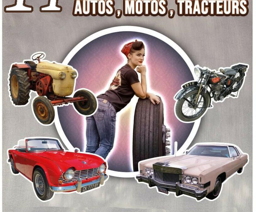 14e Bourse d'échanges Autos, Motos anciens