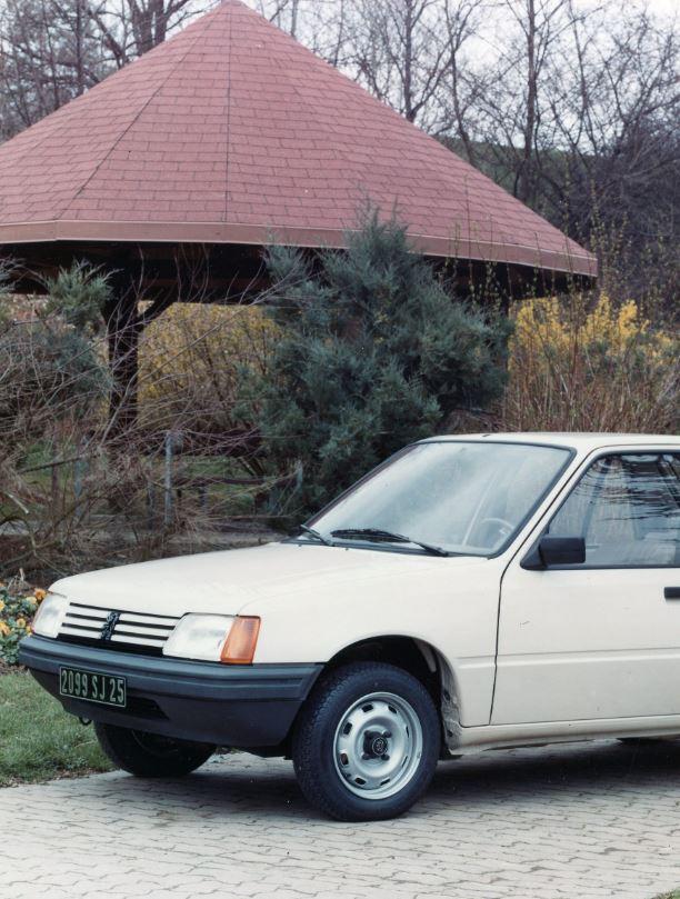 """Un jour, des voitures : Peugeot 205 """"Base"""", XE/GE et XA 954 cm³"""