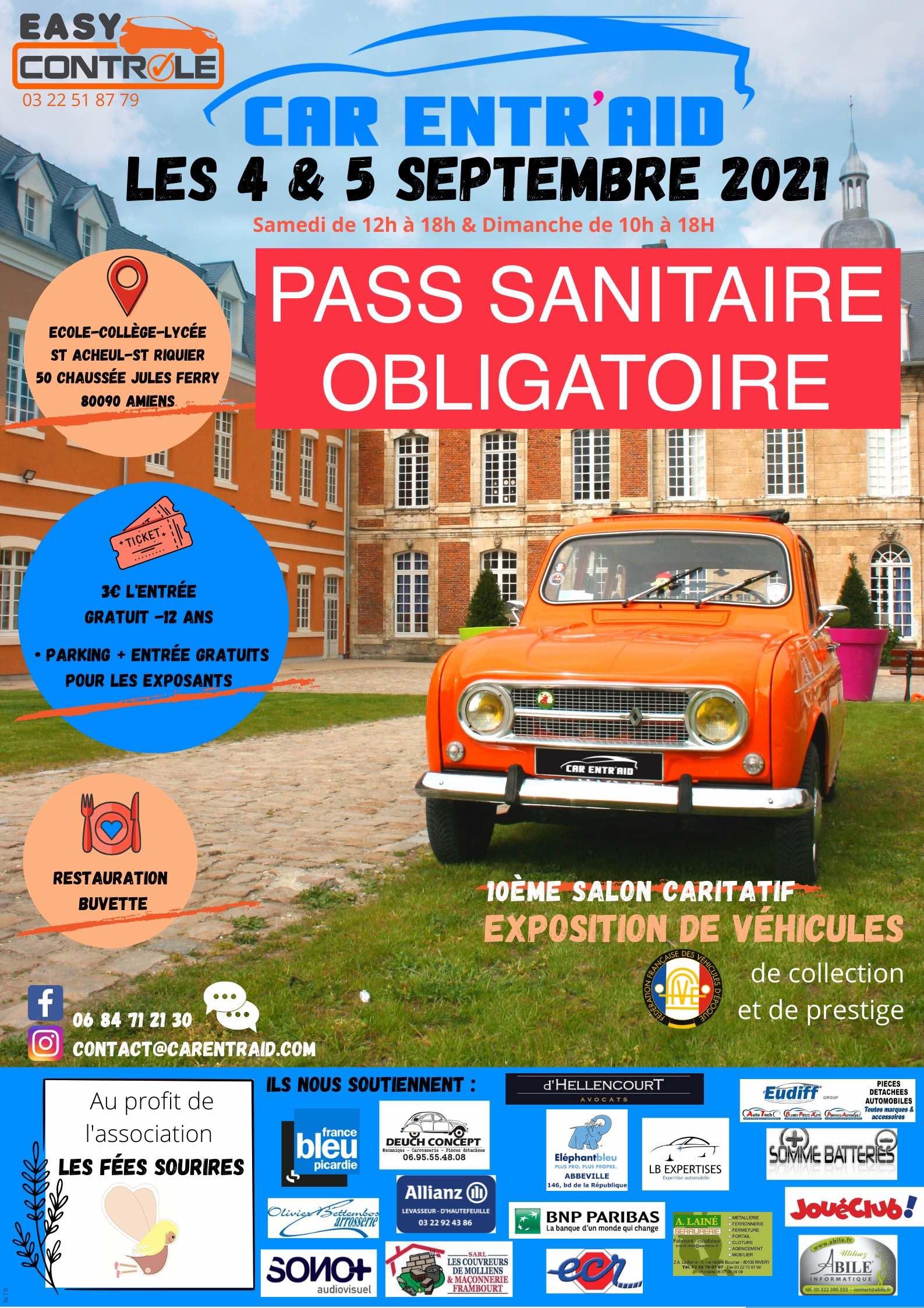 10ème Salon Caritatif CAR ENTR'AID (2021)