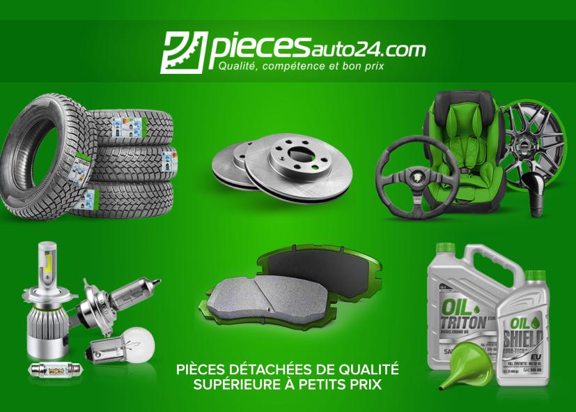 Trouvez tout ce dont votre voiture a besoin sur piecesauto24.com