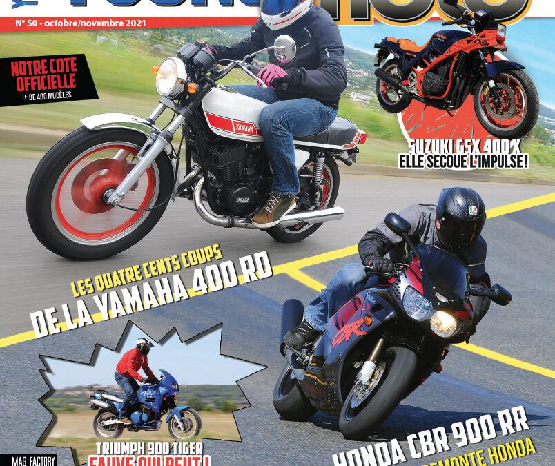 Youngtimers Moto n°50 est en kiosques !