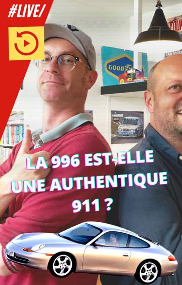 📺 Live Youngtimers : Spécial Porsche 996